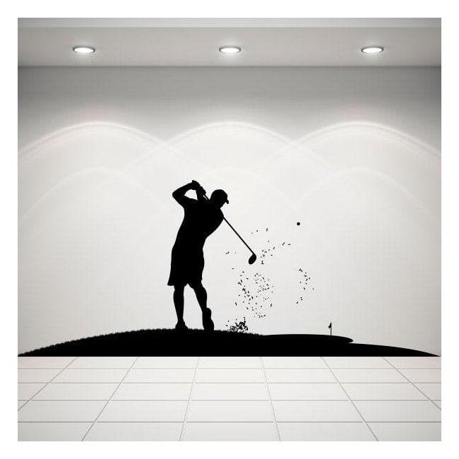 Vinyle décoratif Golf