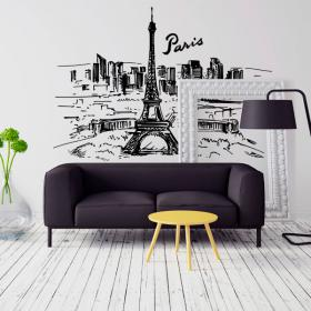 Vinyle Paris Skyline