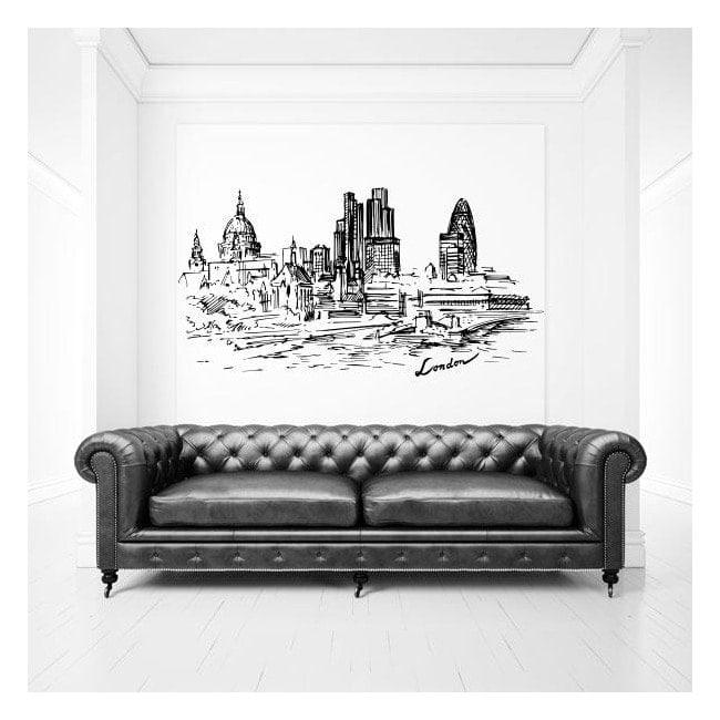 Vinyle Skyline London