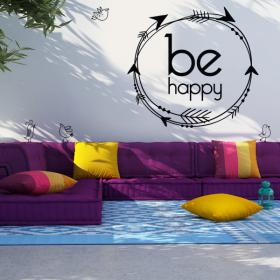 Vinyle être heureux