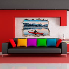 Murs 3D vinyle kayak