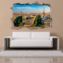 Vinyl 3D Paris French 4543