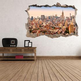 New York City vinyl 3D