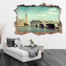 Vinyl 3D Big Ben Londres