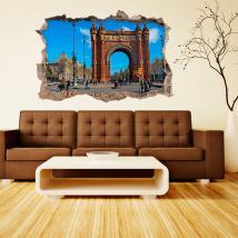 Vinyle Barcelona 3D Arc De Triomphe