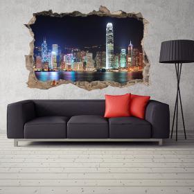 Vinyl 3D Hong Kong City