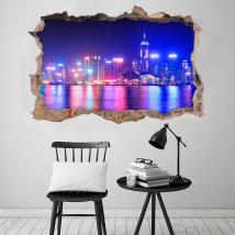 Ville 3D vinyle Hong Kong