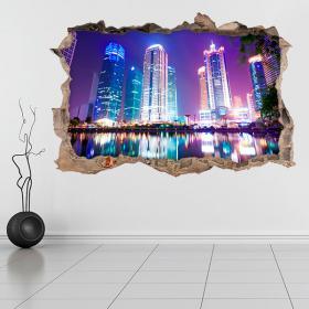 Vinyl 3D Shanghai Chine