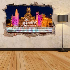 Vinyles de Cibeles Madrid 3D