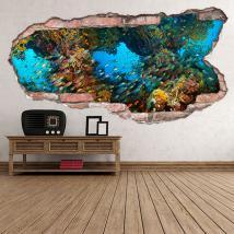 La vie marine vinyle 3D