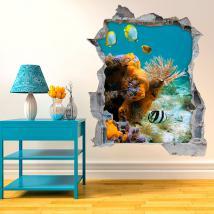 Poisson 3D en vinyle de la mer