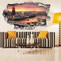 Vinyl 3D Londres French 4660