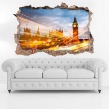 3D de la ville de Londres de vinyle