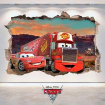 Autocollant 3D Disney Cars 2 French 4781