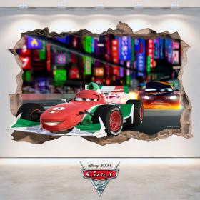 Disney Cars 2 3D vinyle
