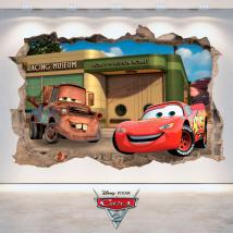 Disney Cars 2 3D vinyle French 4808