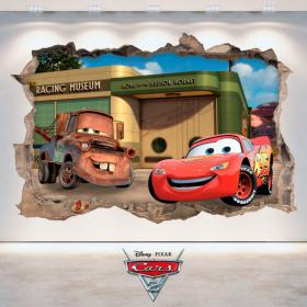 Disney Cars 2 3D vinyle