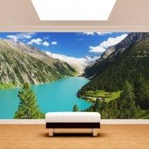 Photos murales Zillertal lac Autriche