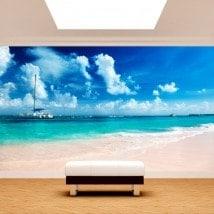 Fotomural plage