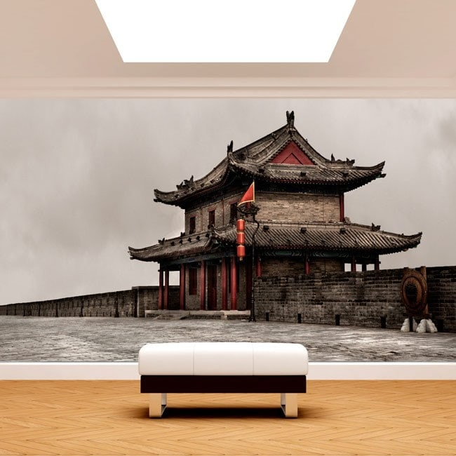Mur mur de peintures murales de Xian