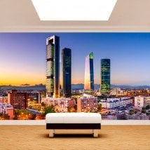 Photos murales Madrid City financial