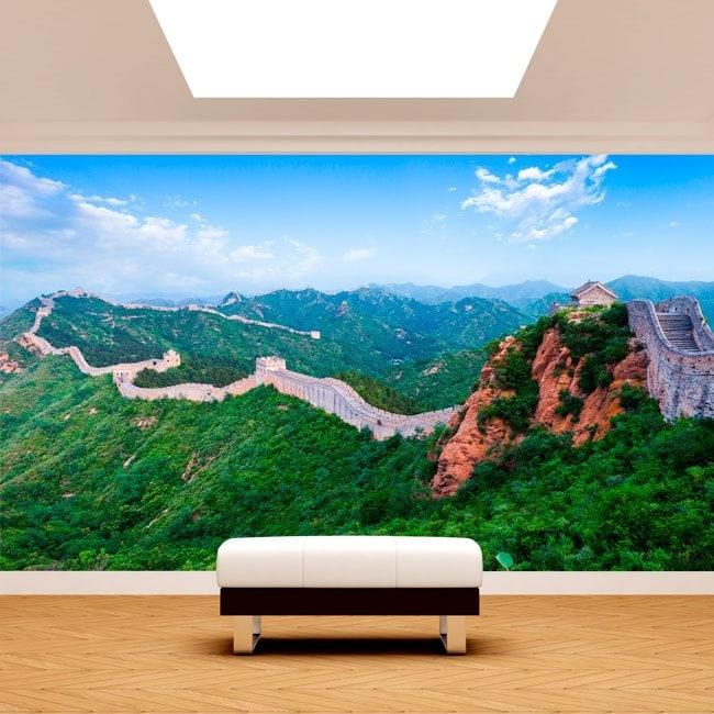 Murales des photo la grande muraille de Chine