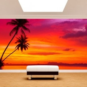 Photos murales Palms Sunset Beach