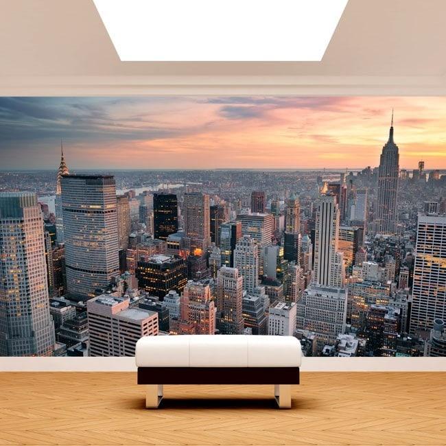 Foto Murales New York.Peintures Murales Photo New York City French 4967
