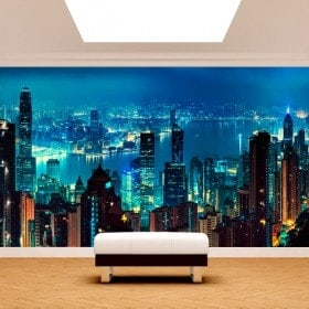Photos murales Hong Kong City