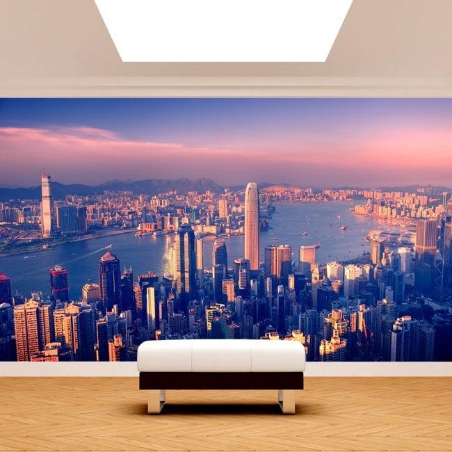 Villes du monde photo murales