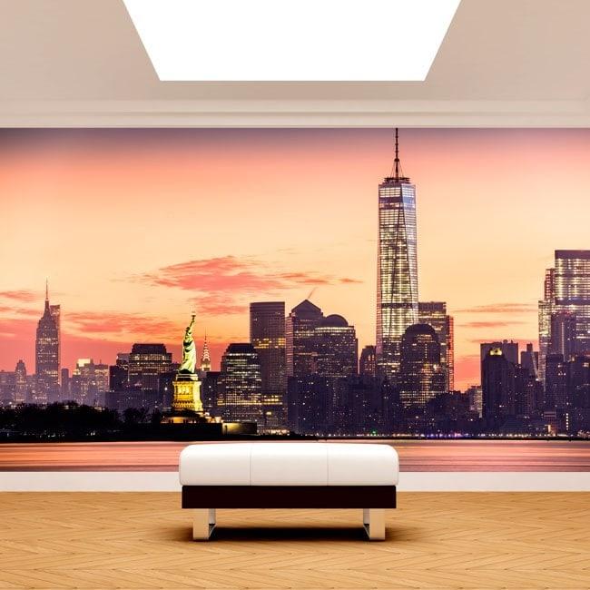 Peintures murales photo New York French 4978