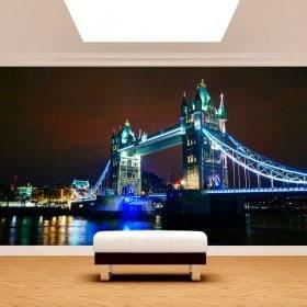 Photos murales London Bridge, de la tour