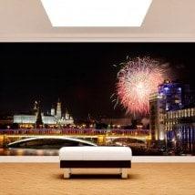Ville de Russie photo mur murales