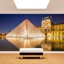 Photo de peintures murales Paris Musée du Louvre