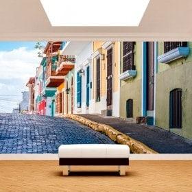 Peintures murales photo rues de Puerto Rico