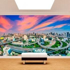 Peintures murales photo Bangkok Thailand