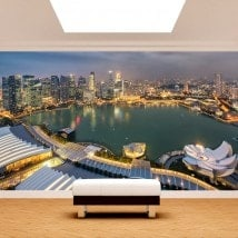 Peintures murales photo Singapour