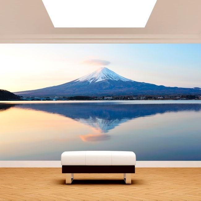 Photos murales Mont Fuji lac Kawaguchi