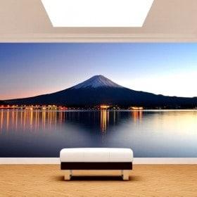 Fotomural Mont Fuji lac Kawaguchi