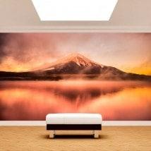 Fotomural lac Kawaguchi Mt. Fuji