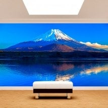 Fotomural Wall Mount Fuji French 5028