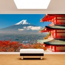 Fotomural Wall Mount Fuji French 5029