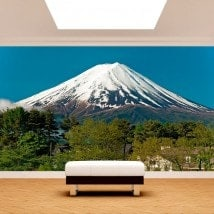 Peintures murales photo Mont Fuji