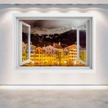 Nuit 3D Windows Innsbruck Autriche
