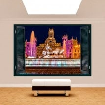 Cibeles Madrid 3D Windows