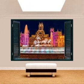 Cibeles Madrid 3D Windows