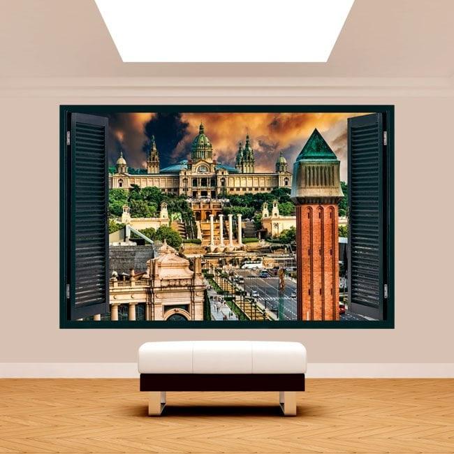 Windows 3D Espagne Barcelone Plaza