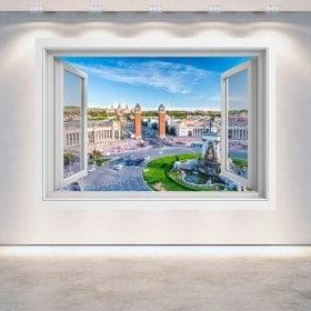 Windows 3D Barcelone
