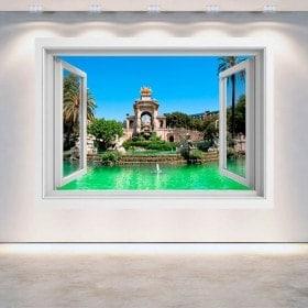 Windows 3D Barcelone la citadelle