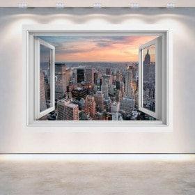 Windows 3D New York City